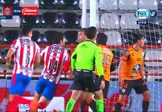 Pachuca vs. Chivas: Jesús Molina puso 1-0 al 'Rebaño Sagrado' por Liga MX | VIDEO