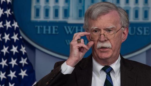 """John Bolton es un viejo """"halcón"""" de gobiernos republicanos en Estados Unidos. Foto: AFP/GETTY IMAGES, vía BBC Mundo"""