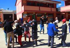 Huánuco: reanudan clases en colegio de Sillapata luego de deslizamiento