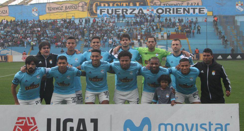 El equipo principal de Sporting Cristal en la Liga 1. (Foto: @ClubSCristal)