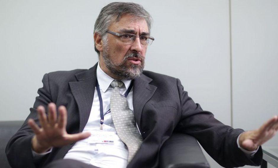 Raúl Molina integra la comitiva para dialogar con los comuneros (Captura: Canal N)