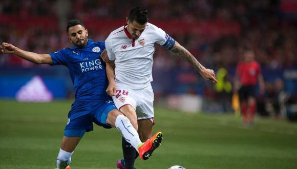 Sevilla venció 2-1 a Leicester City por la Champions League