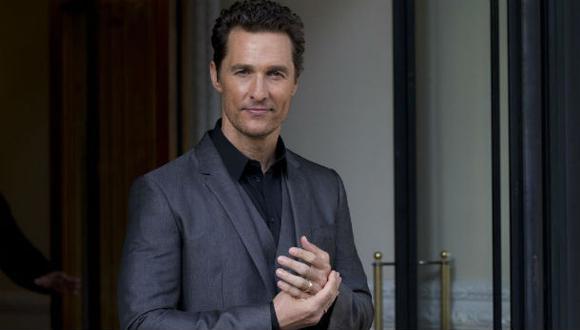 """Matthew McConaughey: """"Mi carrera aún no ha tocado techo"""""""