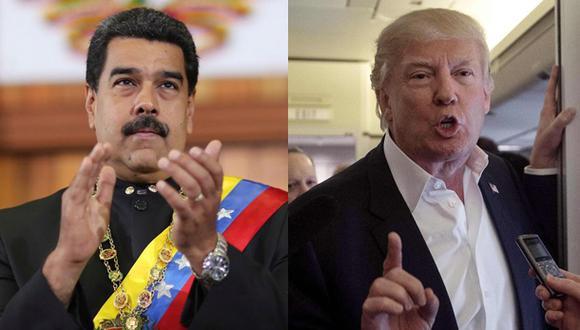 """Maduro a Donald Trump: """"Abra los ojos, no se deje maniatar"""""""