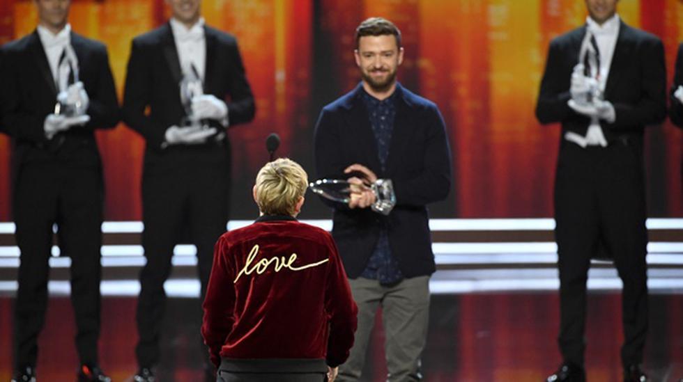 El gran momento de Ellen DeGeneres en el People's Choice Awards - 2