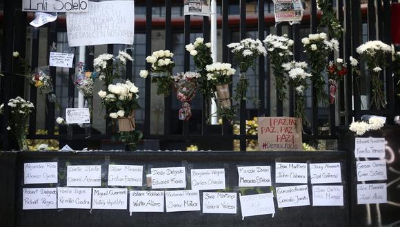 Hoy domingo 15 de noviembre se realizó un homenaje a los dos manifestantes asesinados y desaparecidos tras participar en la segunda gran marcha. (Foto: Jesús Saucedo /@photo.gec)