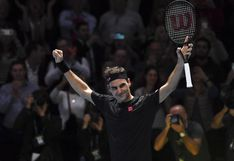 Federer venció a Djokovic, clasificó a las semifinales del ATP World Tour Finals y aseguró el número 1 de Nadal [VIDEO]