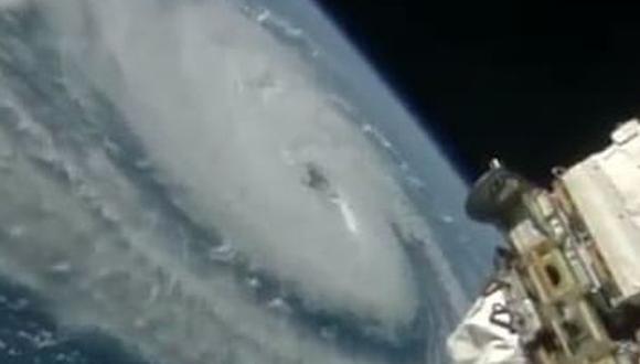 Así se ven desde el espacio los huracanes que golpean la Tierra