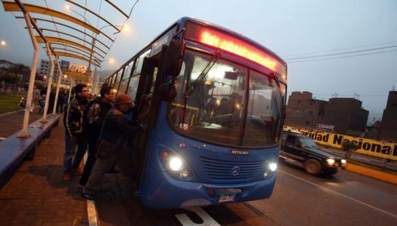 Corredor azul: 'marcha blanca' se reanuda el sábado 2