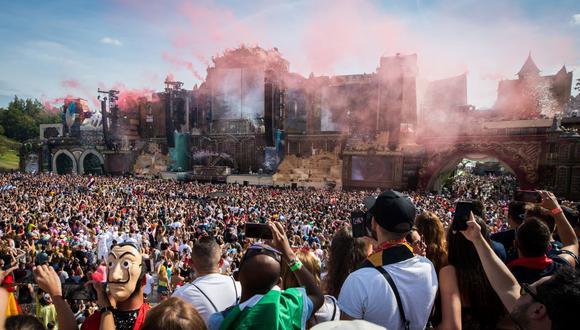 """""""Tomorrowland 2021"""" despedirá el 2020 a ritmo de música electrónica.(Foto: David Pitens / AFP)"""
