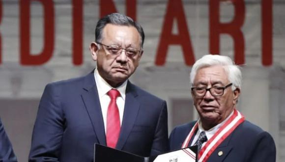 Edgar Alarcón recibió este 28 de febrero su credencial como congresista. (Foto: César Campos / GEC)