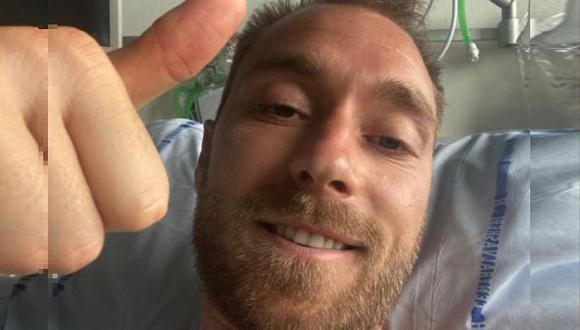 Inter de Milán le dedicó emotiva carta a Christian Eriksen tras su alta médica. (Foto: Instagram)