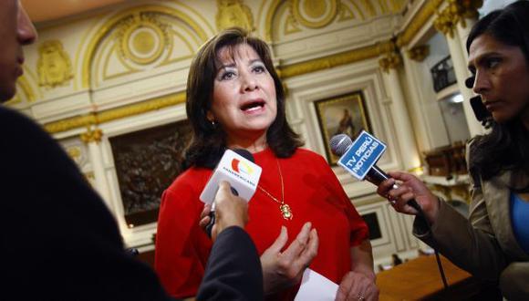 Para Martha Chávez, Fuerza Popular debe presidir Fiscalización por ser la primera minoría del Congreso. (Foto: Paul Vallejos / Archivo El Comercio)