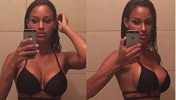 Novia de Balotelli causa furor en Instagram con estos selfies