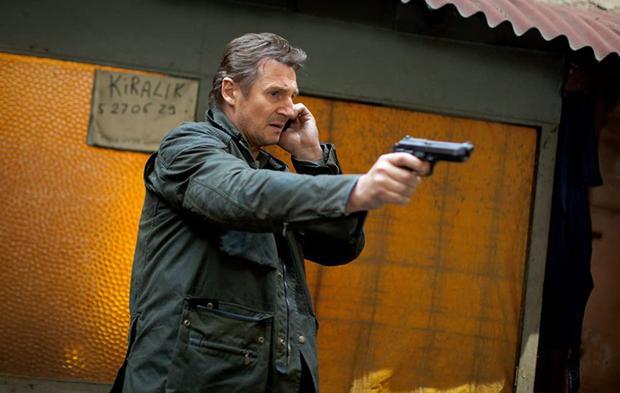 """Liam Neeson en """"Taken""""."""