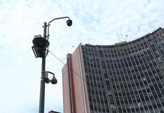 Tres cámaras que apuntaban a las protestas y otras 67 no funcionan hace más de 1 año