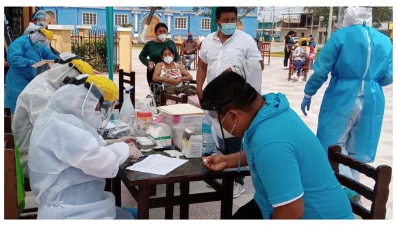 En Lima Metropolitana, 391.624 personas han arrojado positivo para coronavirus durante las pruebas de descarte, según información de la Sala situacional del Minsa. (Foto: Minsa)