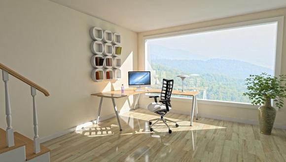 De preferencia que tu espacio esté cerca a una ventana para que ingrese luz natural. (Foto: Pixabay)
