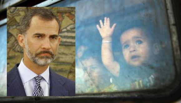 Crisis migratoria: ¿Qué le pidió el rey Felipe a los españoles?