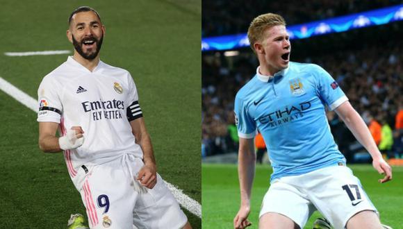 Real Madrid y Manchester City son favoritos en las apuestas de la Champions League.