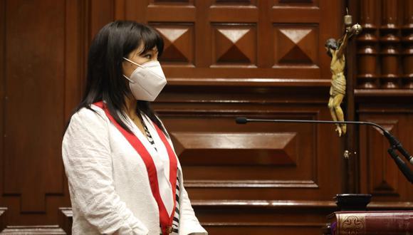 Mirtha Vásquez denunció amenazas en redes sociales y en mensajes a su teléfono | Foto: Congreso