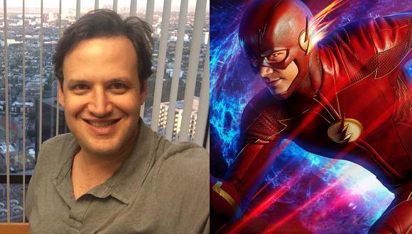 "Andrew Kreisberg produce ""The Flash"" desde la primera temporada. (Fotos: Twitter/ Difusión)"