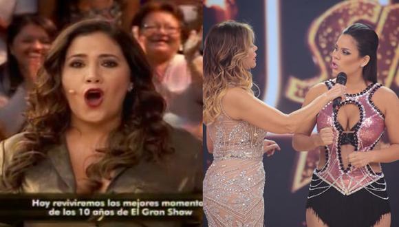 Andrea Llosa parodió incidente de Gisela y Andrea San Martín