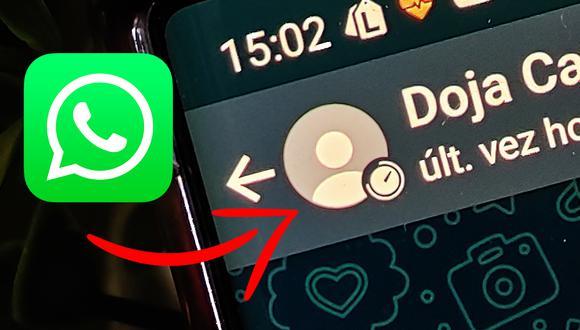 ¿Sabes qué significa el reloj en la foto de perfil de un amigo en WhatsApp? (Foto: MAG)
