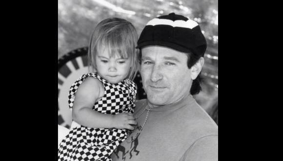Hija de Robin Williams le escribió emotivo mensaje de despedida