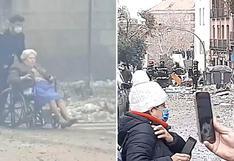 España: explosión genera caos en Madrid