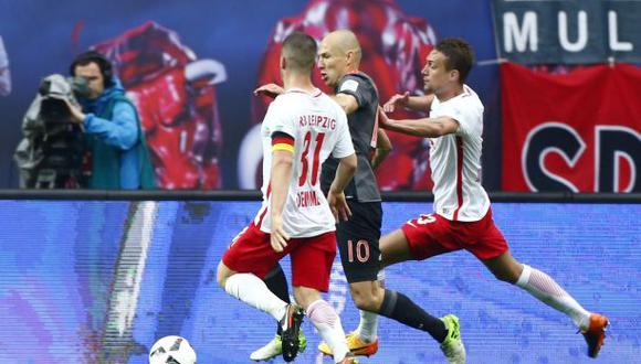Robben anotó agónico golazo que dio triunfo al Bayern Múnich