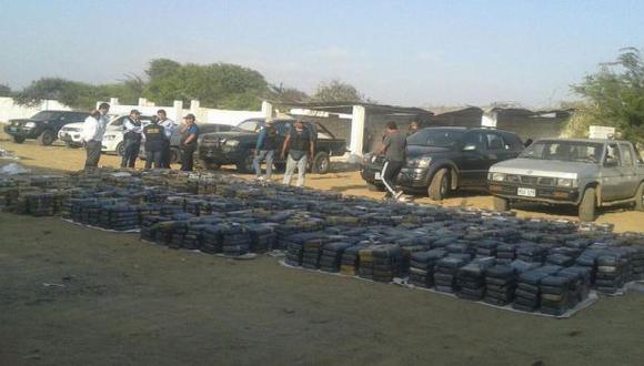 Más de tres toneladas de cocaína estaban camufladas en carbón