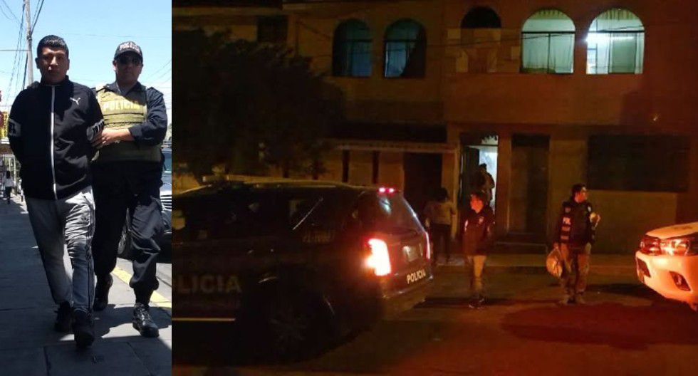 """Arequipa: Rubén Castro Ortiz """"Calancho"""" es acusado de asesinar a su pareja a puñaladas en una cantina clandestina tras sostener una pelea por una presunta infidelidad"""