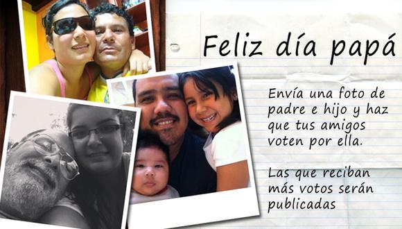 Día del Padre: comparte una foto con tu papá