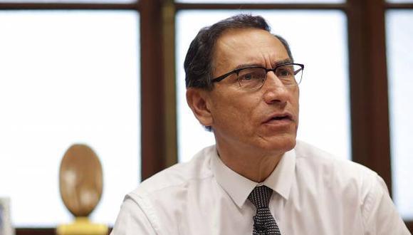 Se espera que Martín Vizcarra jure al cargo de presidente del Perú el viernes. (Foto: El Comercio)