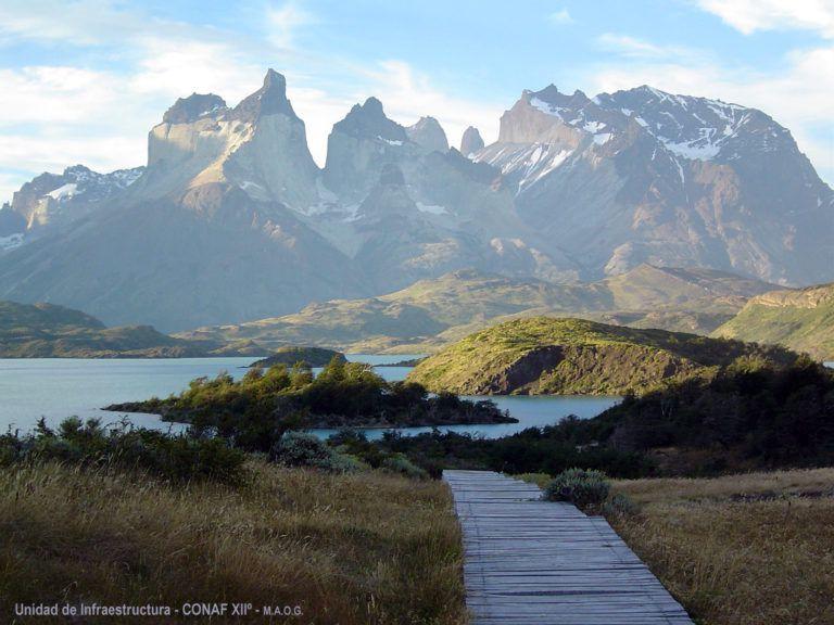 Parque Nacional Torres del Paine, en Chile, una de las más visitadas por turistas en ese país. Foto: Corporación
