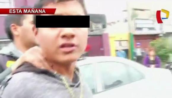 Menor implicado en secuestro de taxista dijo que fue amenazado