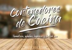 Contenedores de cocina: El secreto de una cocina bien organizada y dispuesta