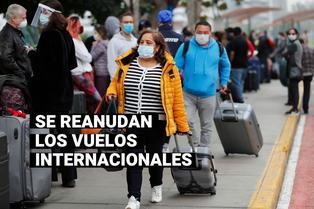 Vuelos internacionales: ¿Cuáles serían los primeros destinos con la reapertura de las fronteras?