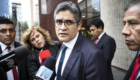 José Domingo Pérez envió este martes un oficio a la coordinación del equipo especial Lava Jato. (Foto: El Comercio)