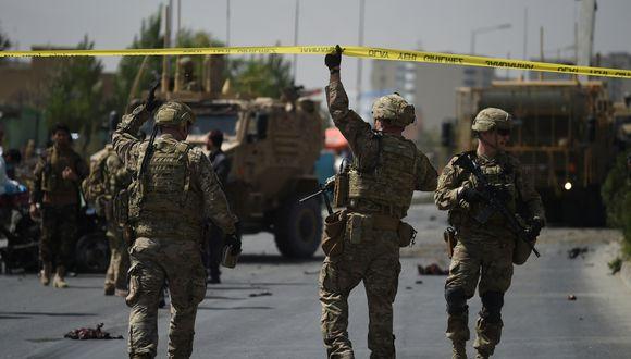 Talibanes dicen detendrán guerra en Afganistán si salen tropas extranjeras. Foto: Archivo de AFP