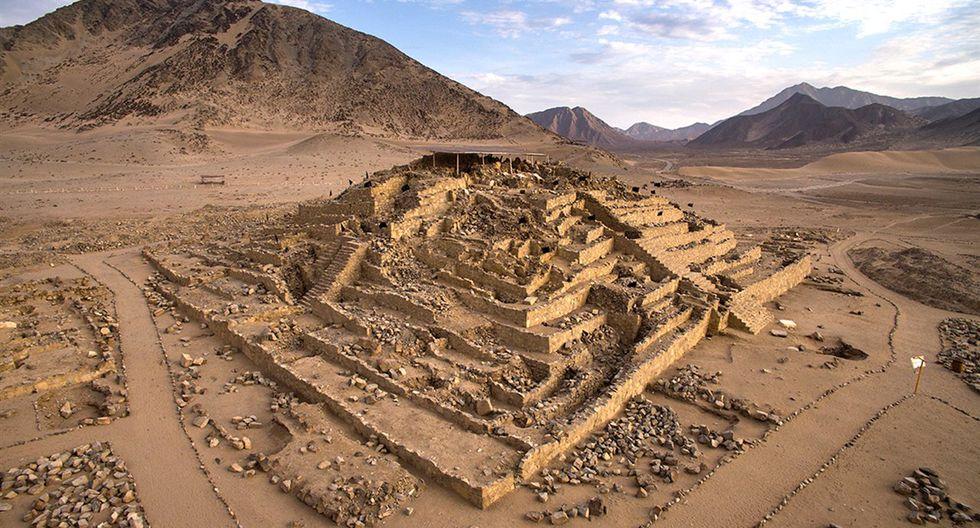 La arquitectura escalonada también se registra en la construcción Inca. (Foto: Foto: Zona Arqueológica Caral)