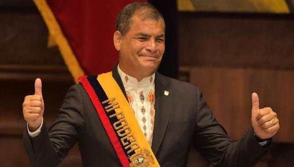Correa no descarta volver a postularse a presidencia de Ecuador