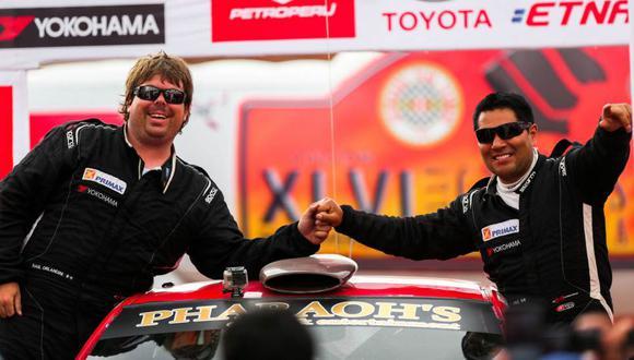 Caminos del Inca: Jhon Navarro y Raúl Orlandini son campeones