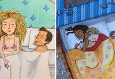 10 curiosos dibujos que ilustran la vida diaria de las parejas | FOTOS