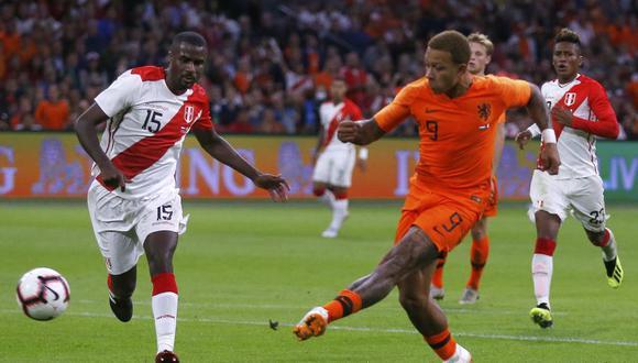 Perú vs. Holanda: ver resumen, jugadas, video y goles   Final del partido