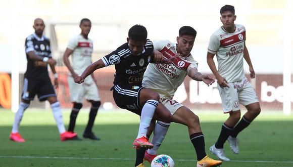 Universitario y Sporting Cristal ya se enfrentaron en la fecha 5 de la Fase 1 | Foto: @LigaFutProf