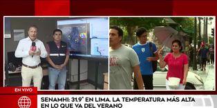 Senamhi: temperatura en Lima disminuirá en los próximos días