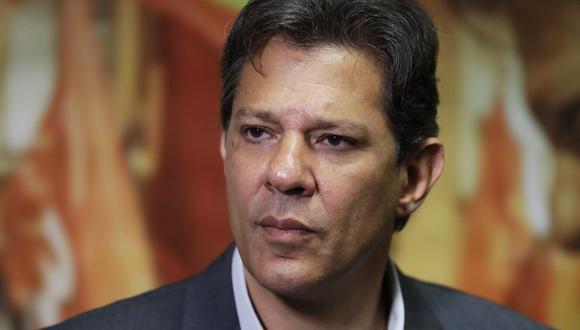 Elecciones en Brasil | Fernando Haddad, el candidato atrapado en la sombra del ex presidente Lula da Silva | PERFIL. (AP)
