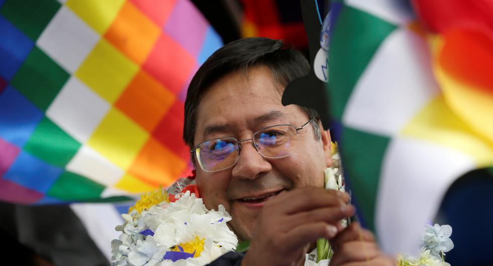 El candidato del MAS, Luis Arce, supera al expresidente centrista Carlos Mesa (17.1%) y a la presidenta temporal Jeanine Áñez (16.5%), según el último sondeo a cargo de la empresa Ciesmori. (Reuters)